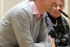 Volker Weidermann, FAS, mit Eva Alberman