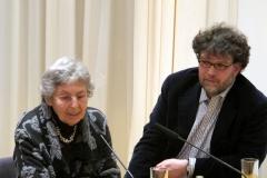 Eva Alberman mit Oliver Matuschek