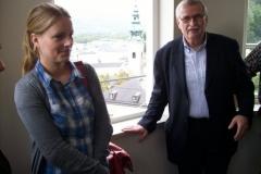 Jasmin Keller und Hildemar Holl