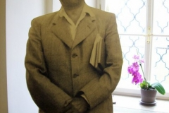 Stefan Zweig (kaschiertes Photo, Ausstellung Augsburg 2001)