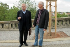 Hildemar Holl und Burkhard Stenzel (Weimar)