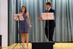 Amelia Scicolone (Basel) und David Steffens (Salzburg)