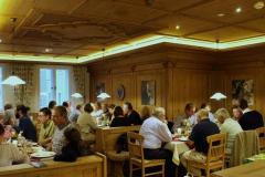 Freitag, 4. September 2015: Gemeinsames Abendessen im Sternbräu